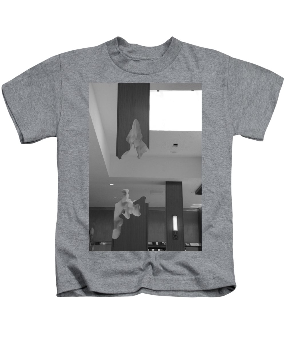Abstract Kids T-Shirt featuring the photograph Rotton Stanchon by Rob Hans