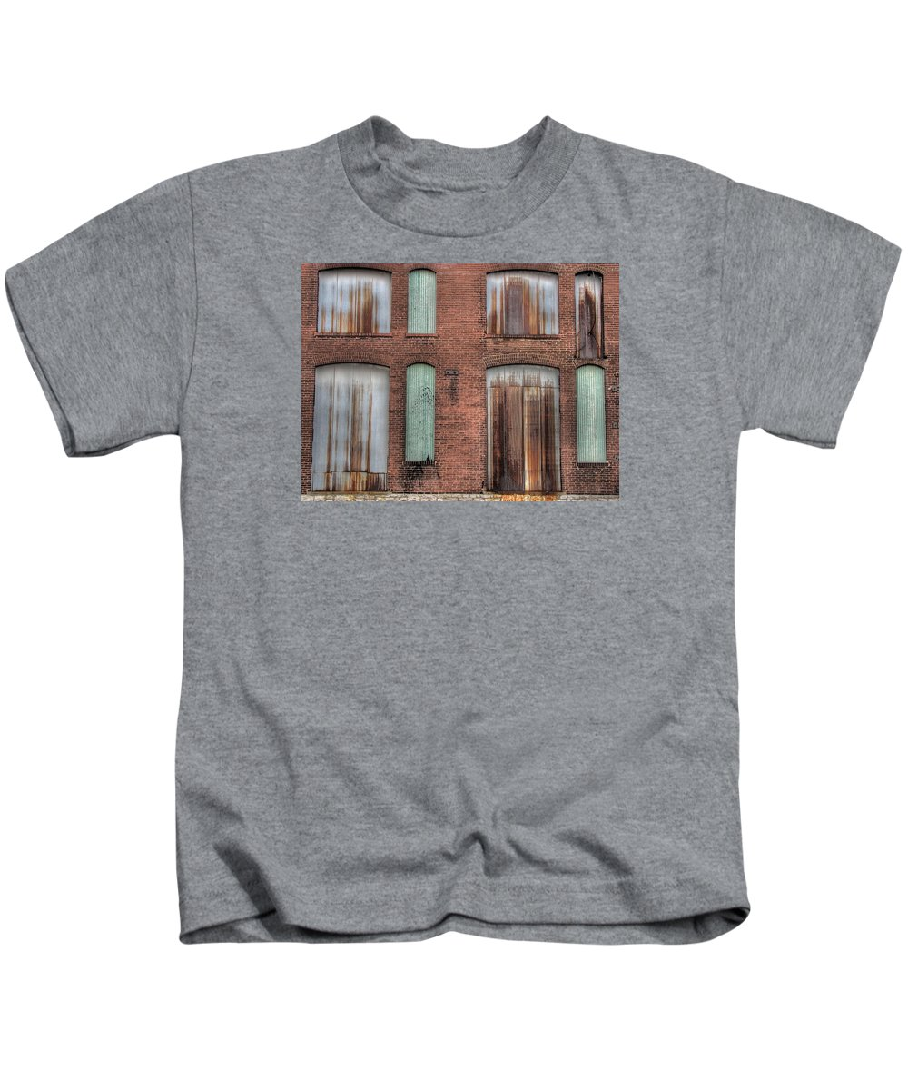 Rust Kids T-Shirt featuring the photograph Rust Never Sleeps by Jane Linders