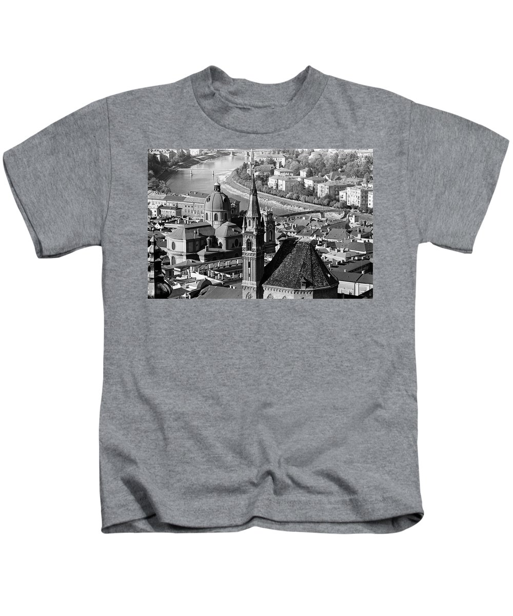 Europe Kids T-Shirt featuring the photograph Salzburg Austria 5 by Lee Santa