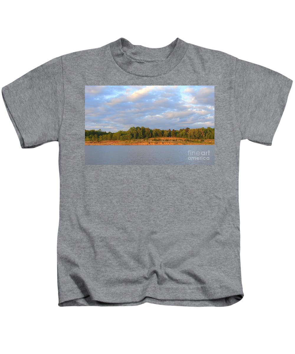 Kids T-Shirt featuring the photograph Sardis Lake by Luciana Seymour