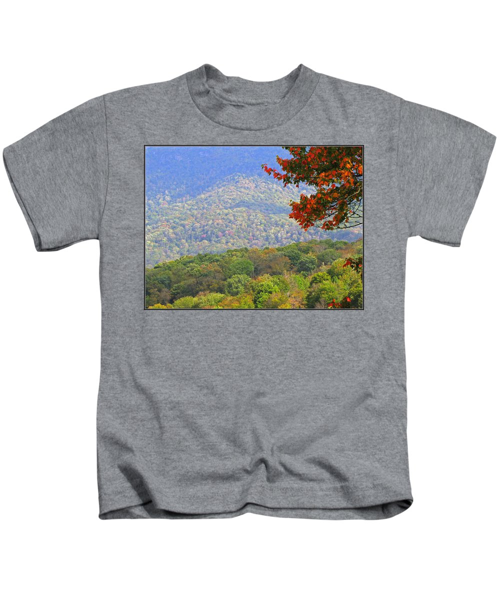 Fall Kids T-Shirt featuring the photograph Seasonal Color by Gary Adkins