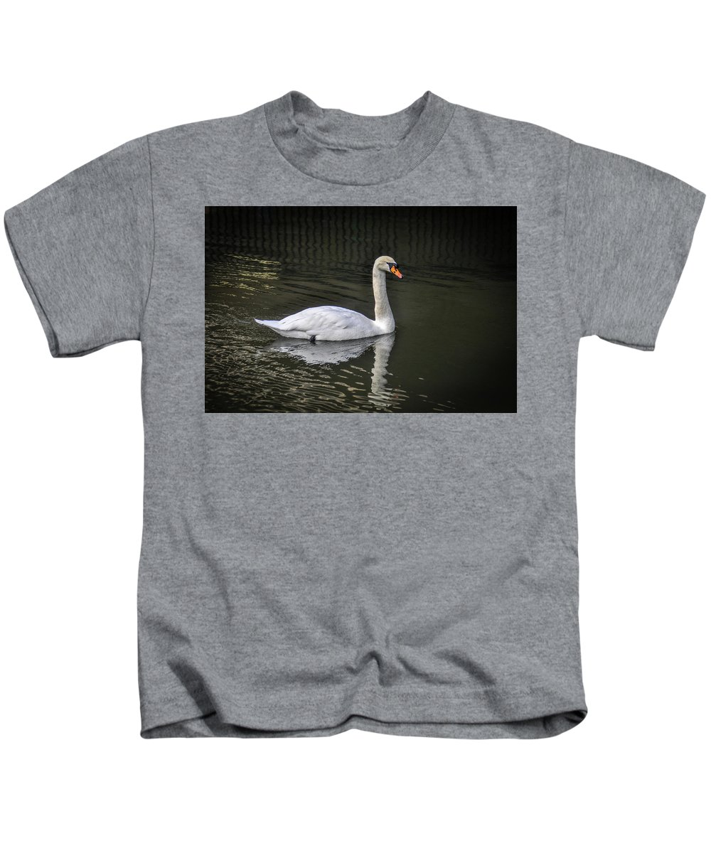 Alone Kids T-Shirt featuring the photograph Serenity by Peter Hayward Photographer