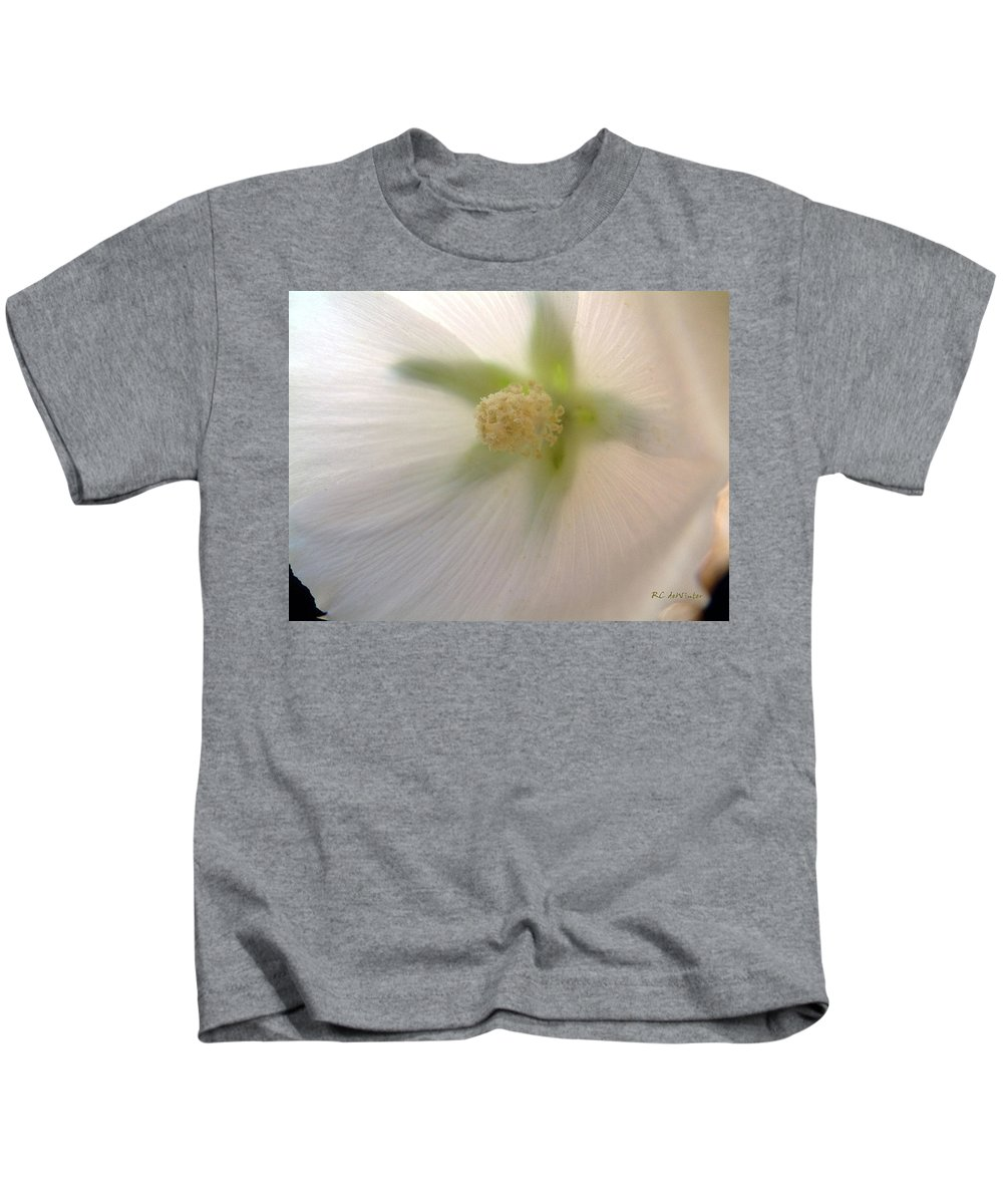 Blossom Kids T-Shirt featuring the photograph Shimmer by RC DeWinter