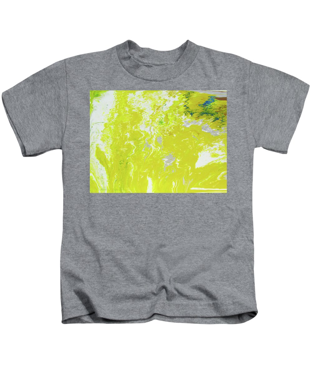 Fusionart Kids T-Shirt featuring the painting Shine by Ralph White