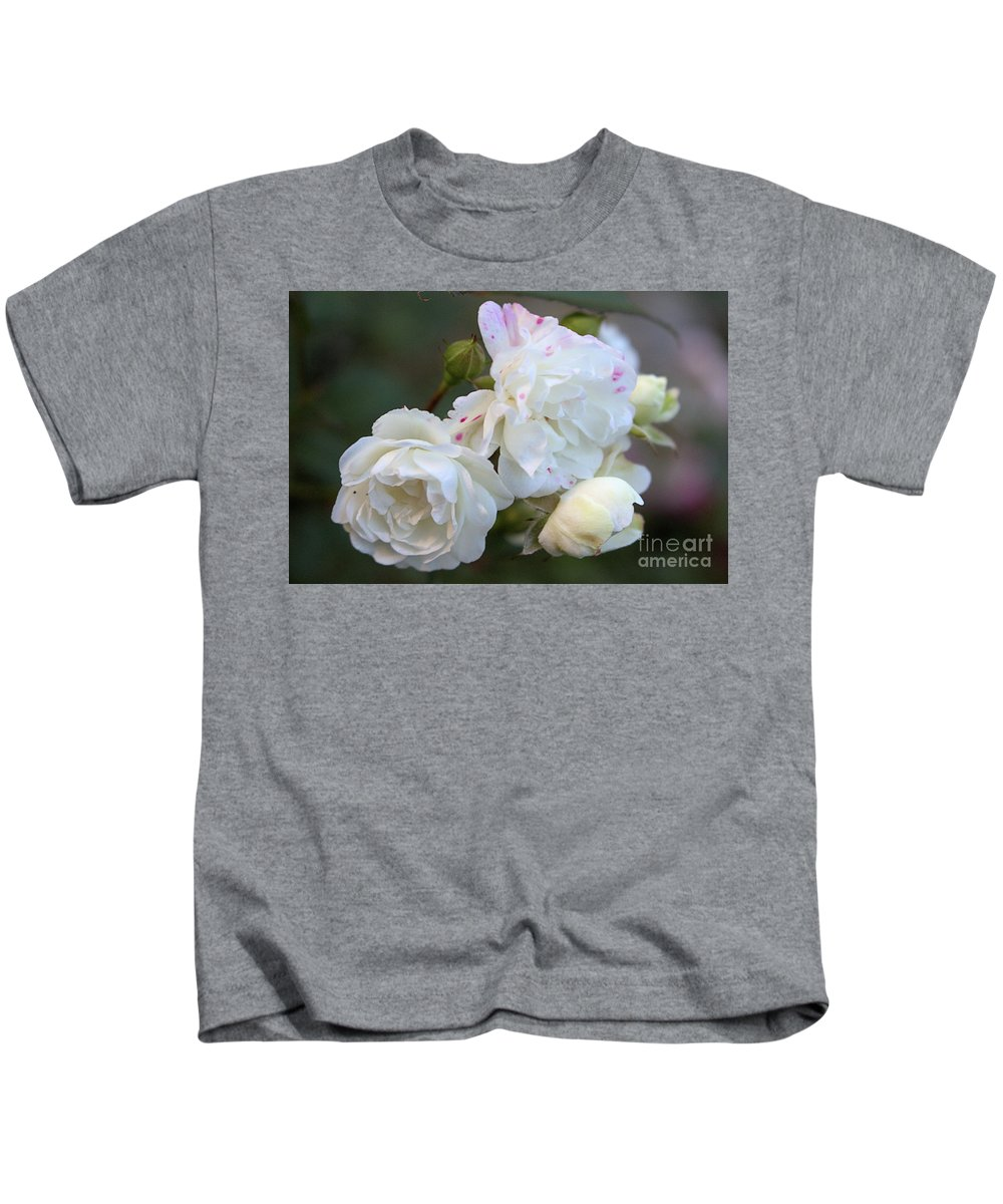 White Rose Kids T-Shirt featuring the photograph Silky Rose 2 by Victor K