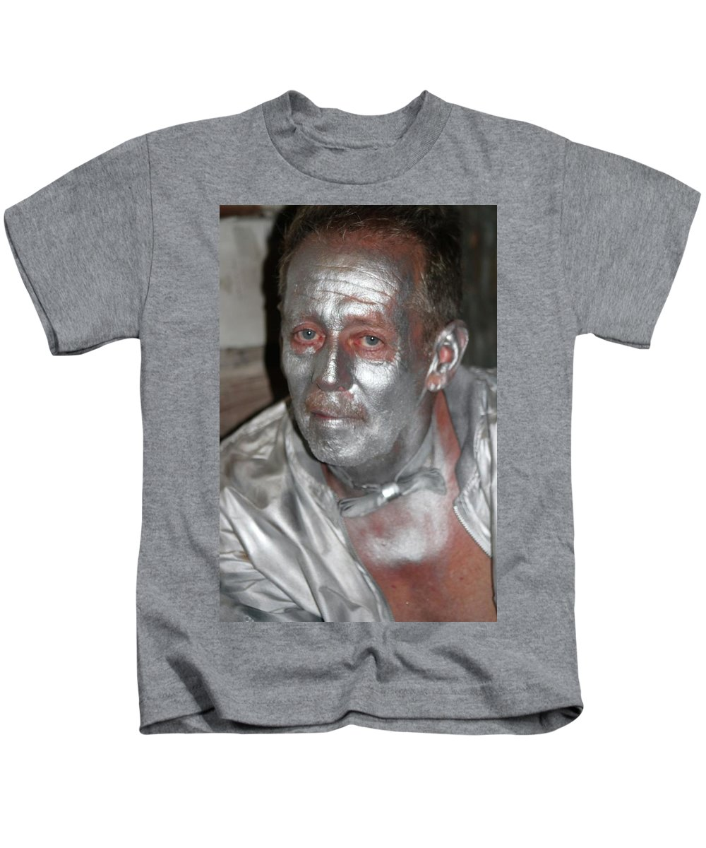 French Quarter Kids T-Shirt featuring the photograph Silverman by Michelle Powell