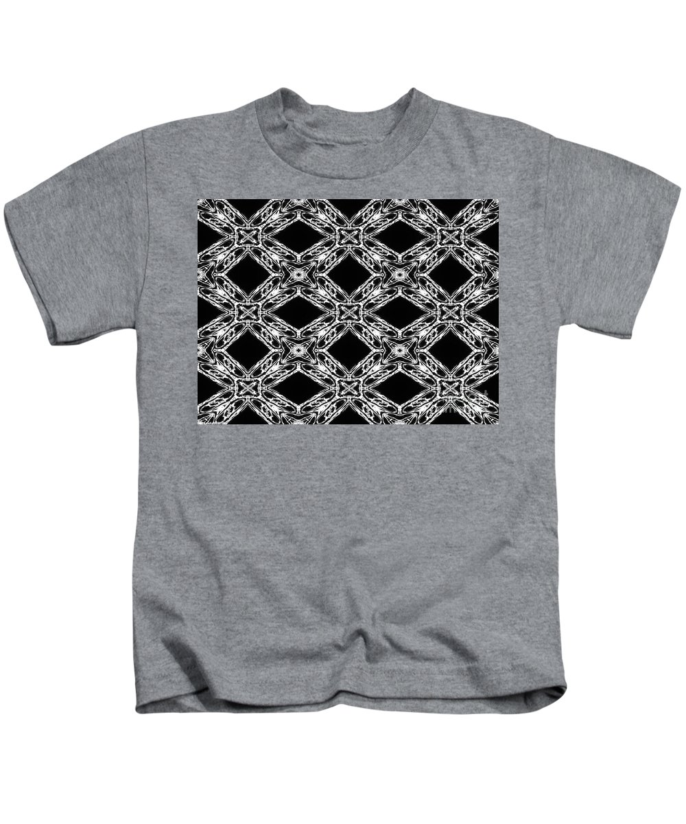 Atoms Kids T-Shirt featuring the digital art Simplicity Atomic Collective by Debra Lynch