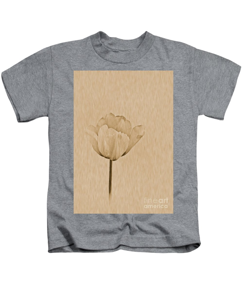 Tulip Kids T-Shirt featuring the photograph Single Tulip by Tonya P Smith