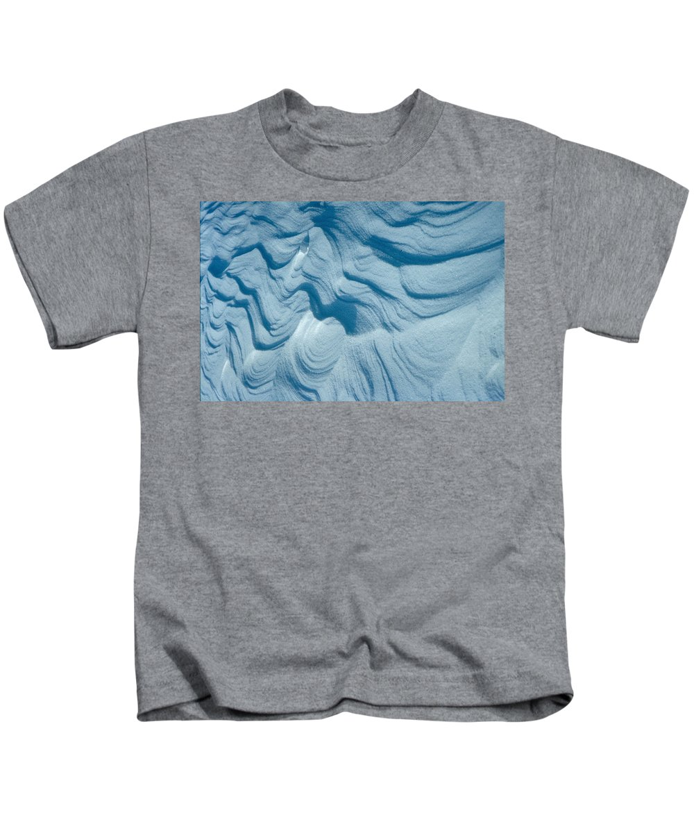 Snow Kids T-Shirt featuring the photograph Snow by Flavia Westerwelle