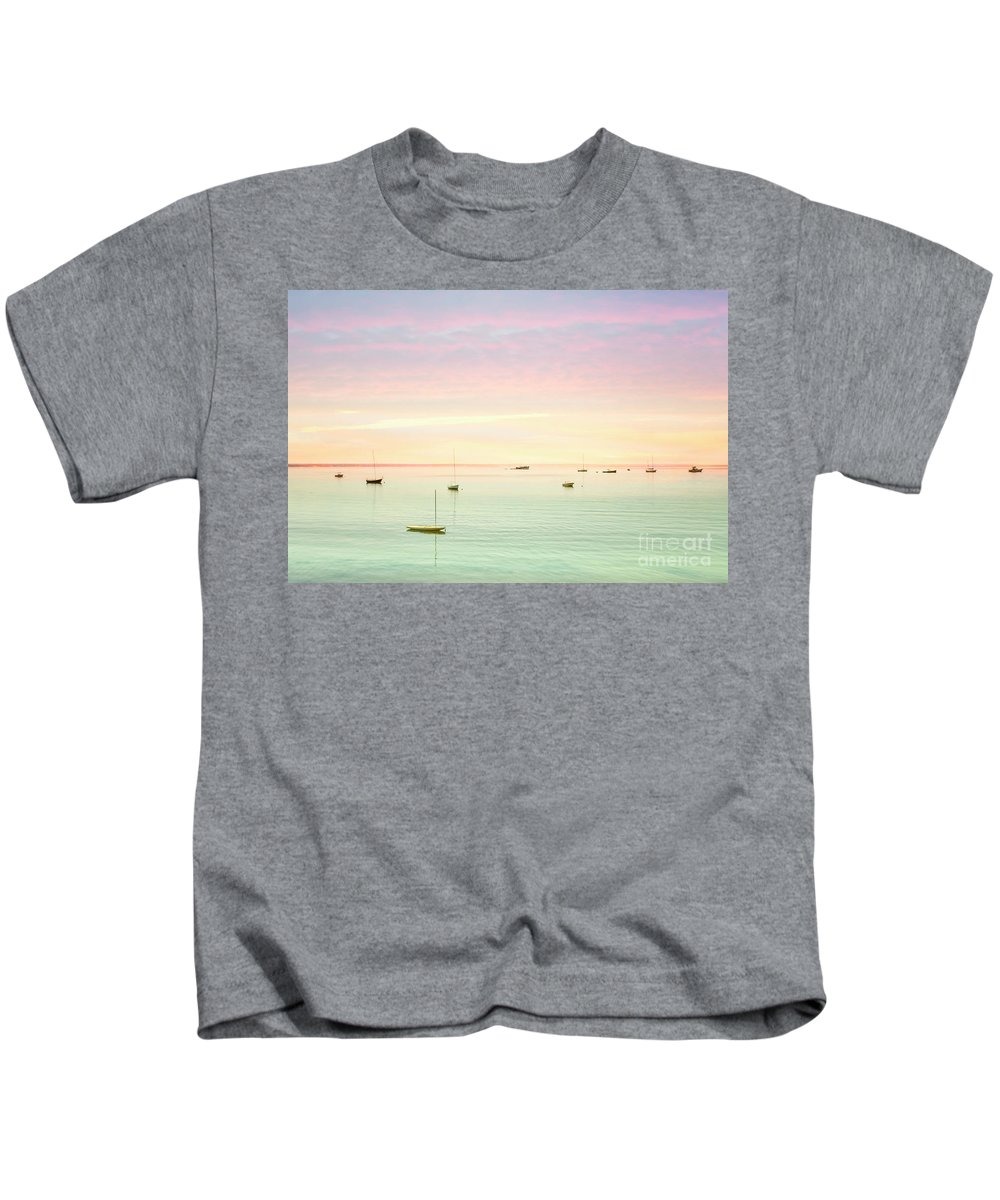 Cape Cod Sunset Photographs Kids T-Shirts