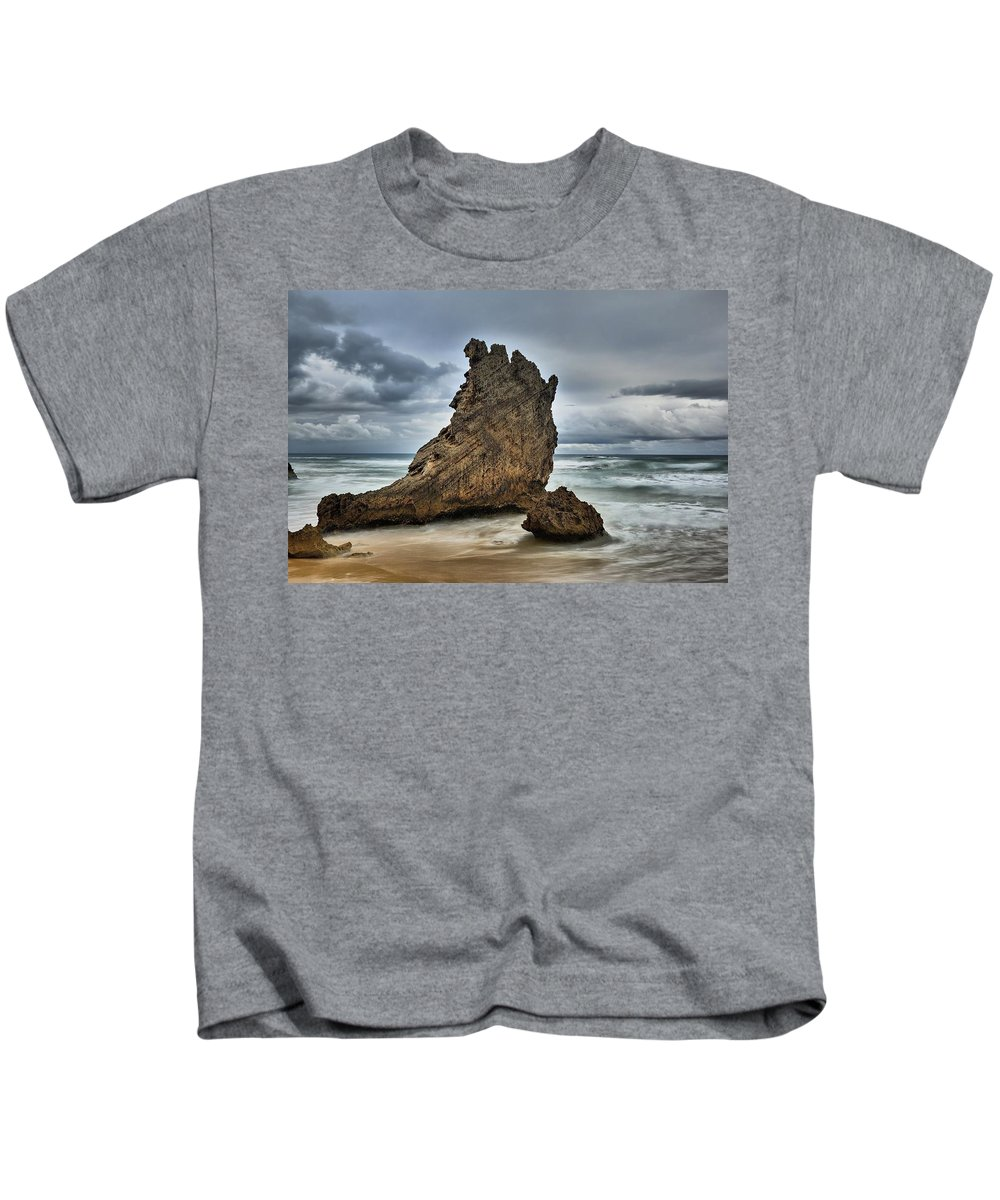 Beach Kids T-Shirt featuring the photograph South Africa by FL collection