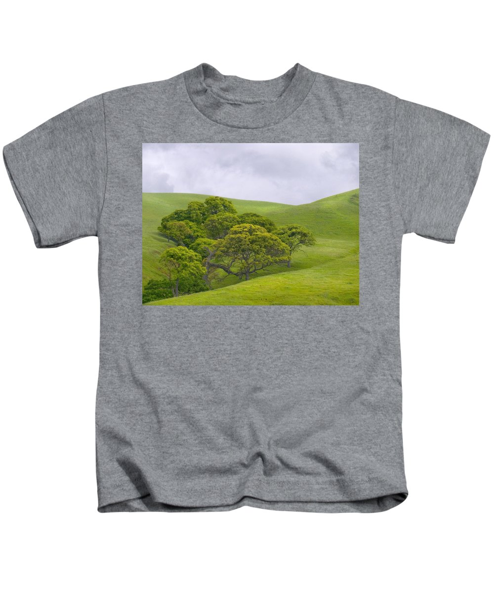 Landscape Kids T-Shirt featuring the photograph Spring At Del Valle by Karen W Meyer