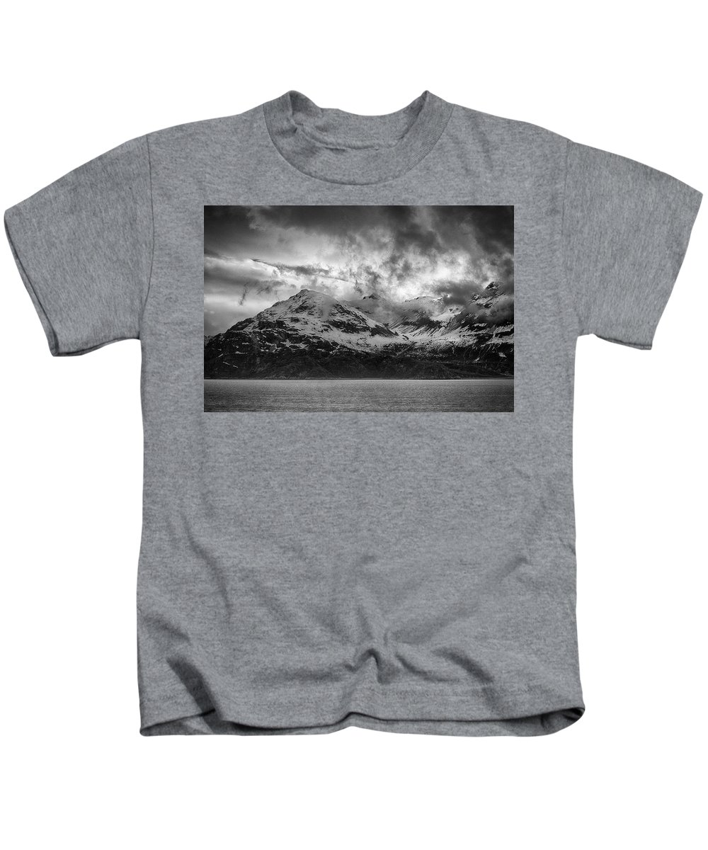 Glacier Kids T-Shirt featuring the photograph Spring On Glacier Bay by Hugh Smith