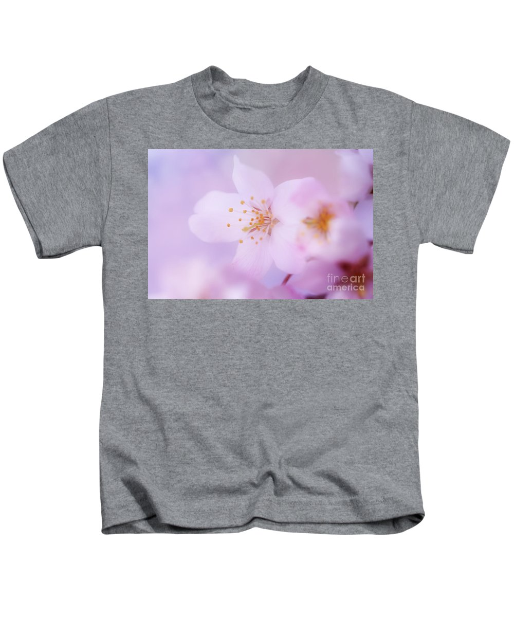 Floral Kids T-Shirt featuring the photograph Spring Softness by LHJB Photography