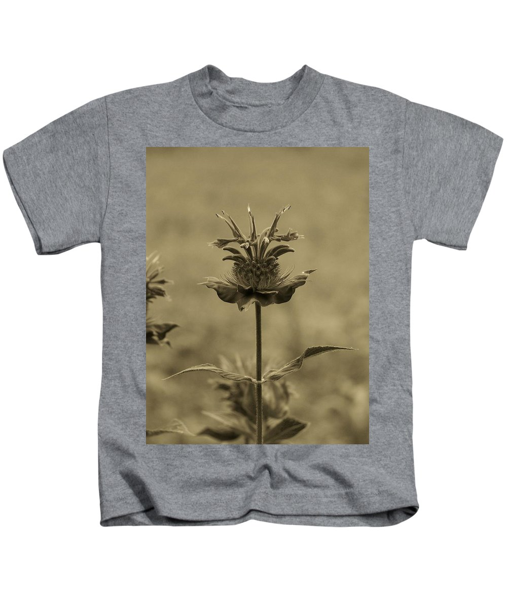 Flower Kids T-Shirt featuring the photograph Standing Alone by Trish Tritz