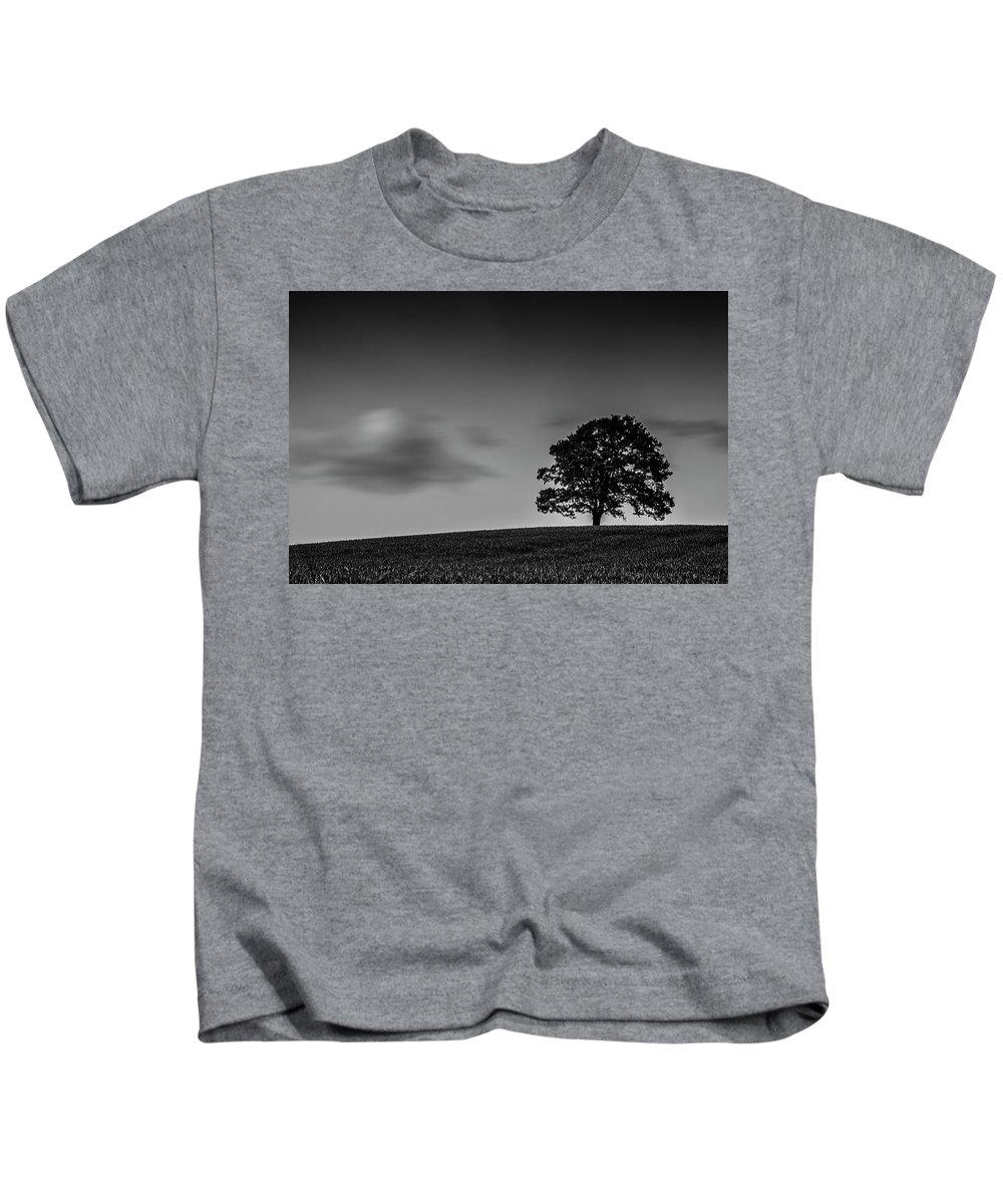 Nd Kids T-Shirt featuring the photograph Standing Strong by Jane Svensson