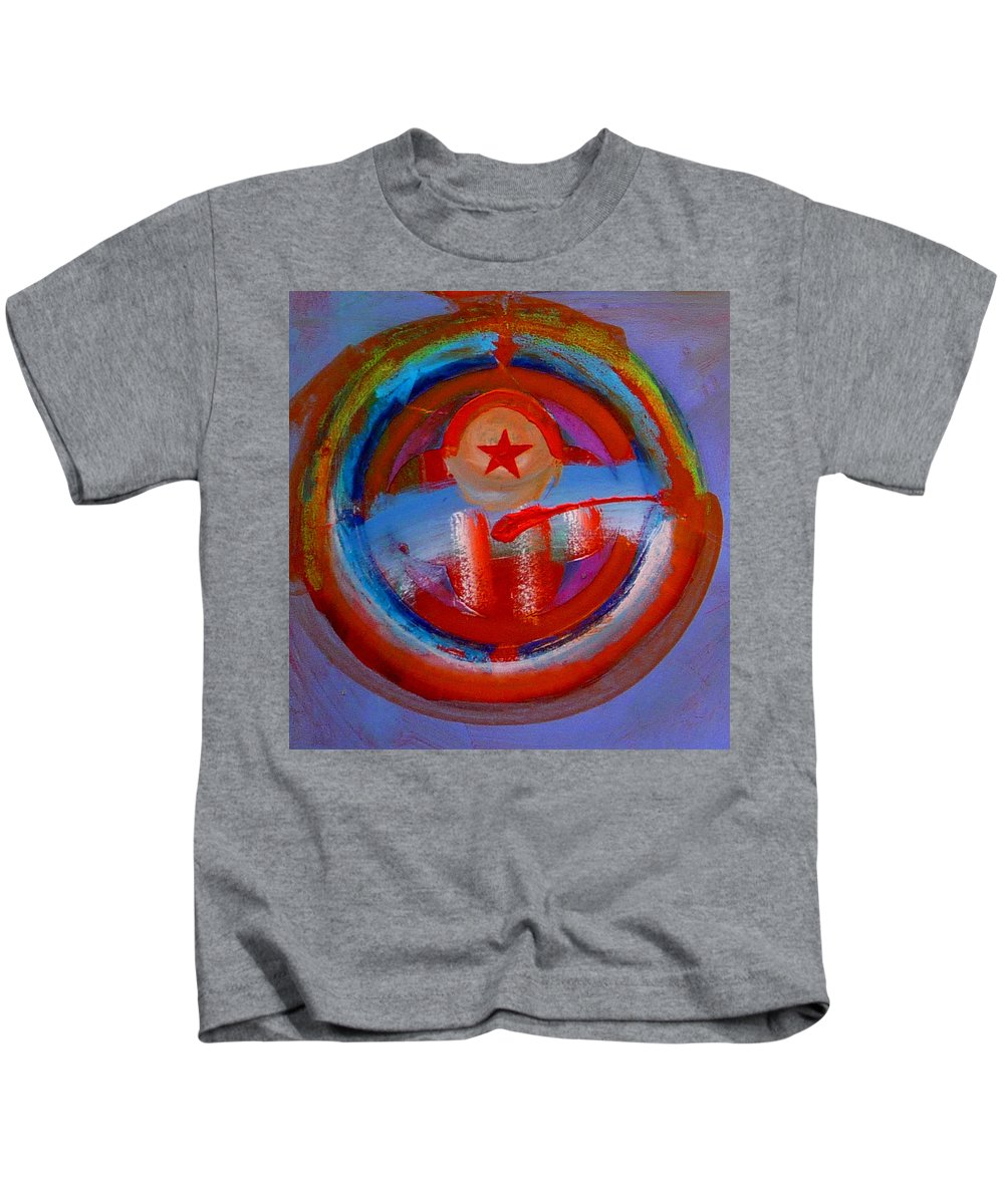 Love Kids T-Shirt featuring the painting Star Of The Sea by Charles Stuart