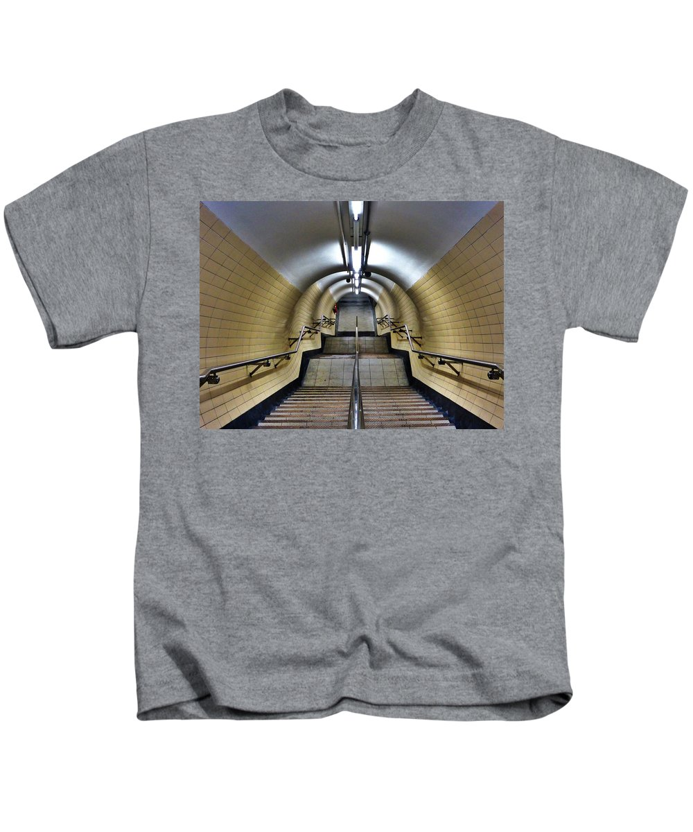 Uk Kids T-Shirt featuring the photograph Step Change by Douglas Stratton