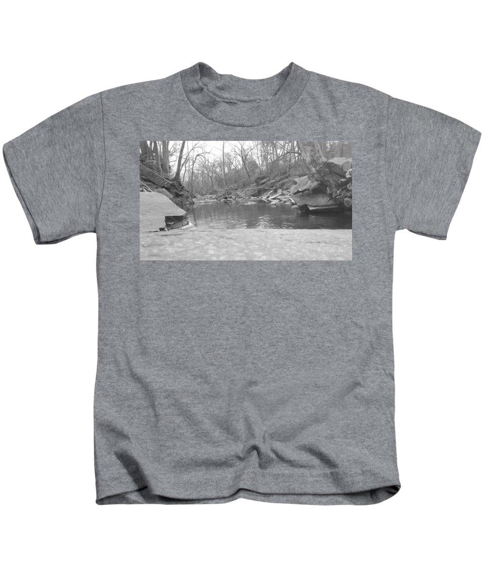 Black Kids T-Shirt featuring the photograph Still by Lori Morrow