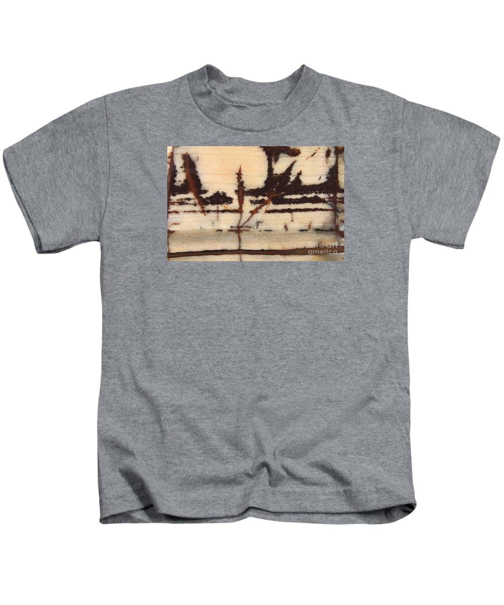 Jasper Kids T-Shirt featuring the photograph Stone Vision Corral - B by Daniel Bontempo