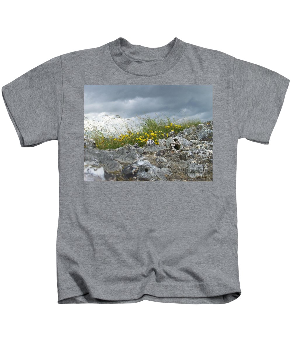 Old Kids T-Shirt featuring the photograph Striking Ruins by Mary Mikawoz
