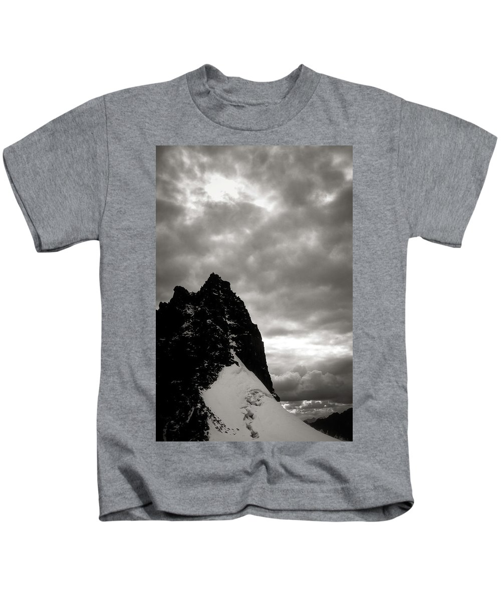 Alone Kids T-Shirt featuring the photograph Stronghold by Konstantin Dikovsky
