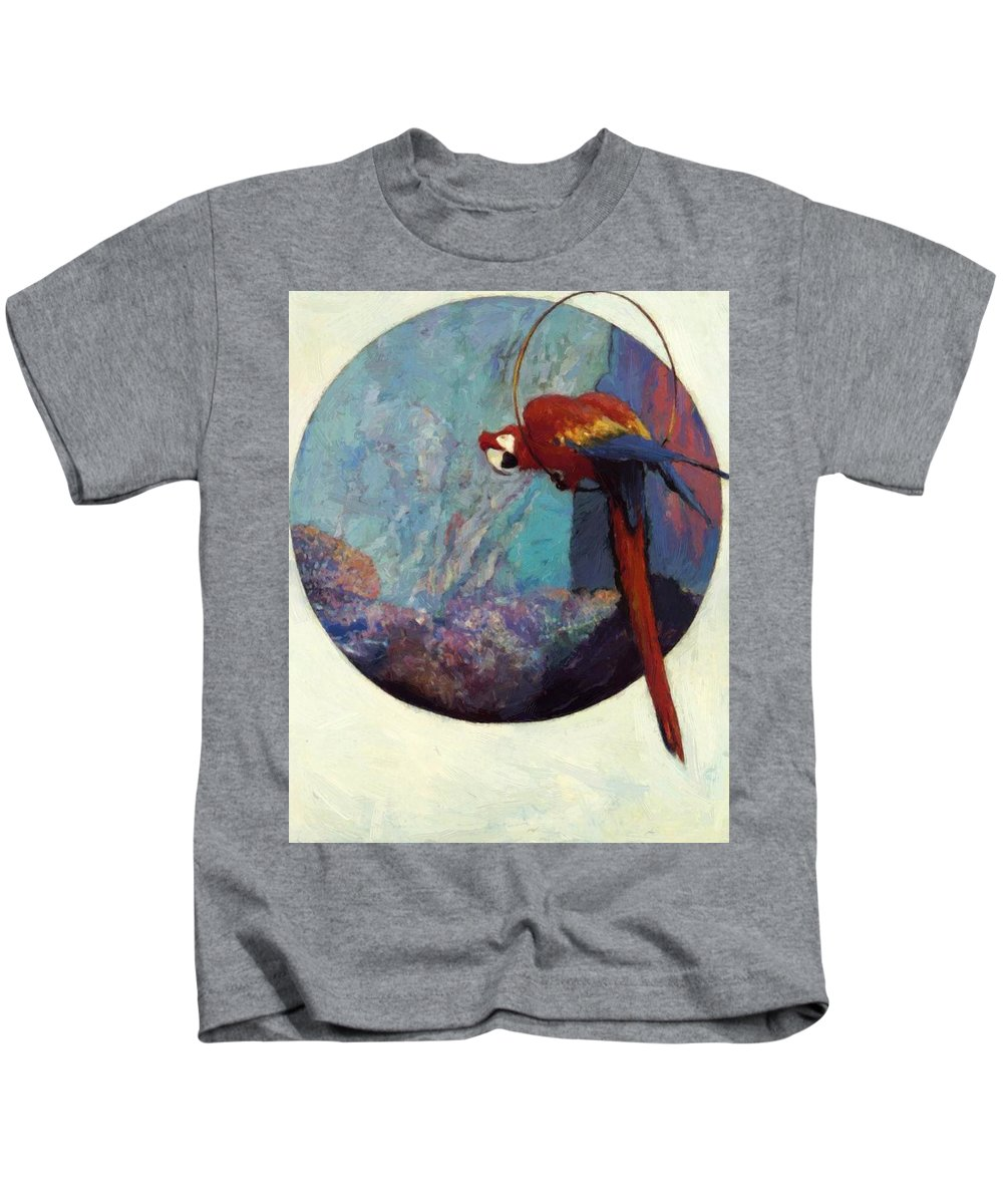 Study Kids T-Shirt featuring the painting Study For Polly 1923 by Reid Robert Lewis