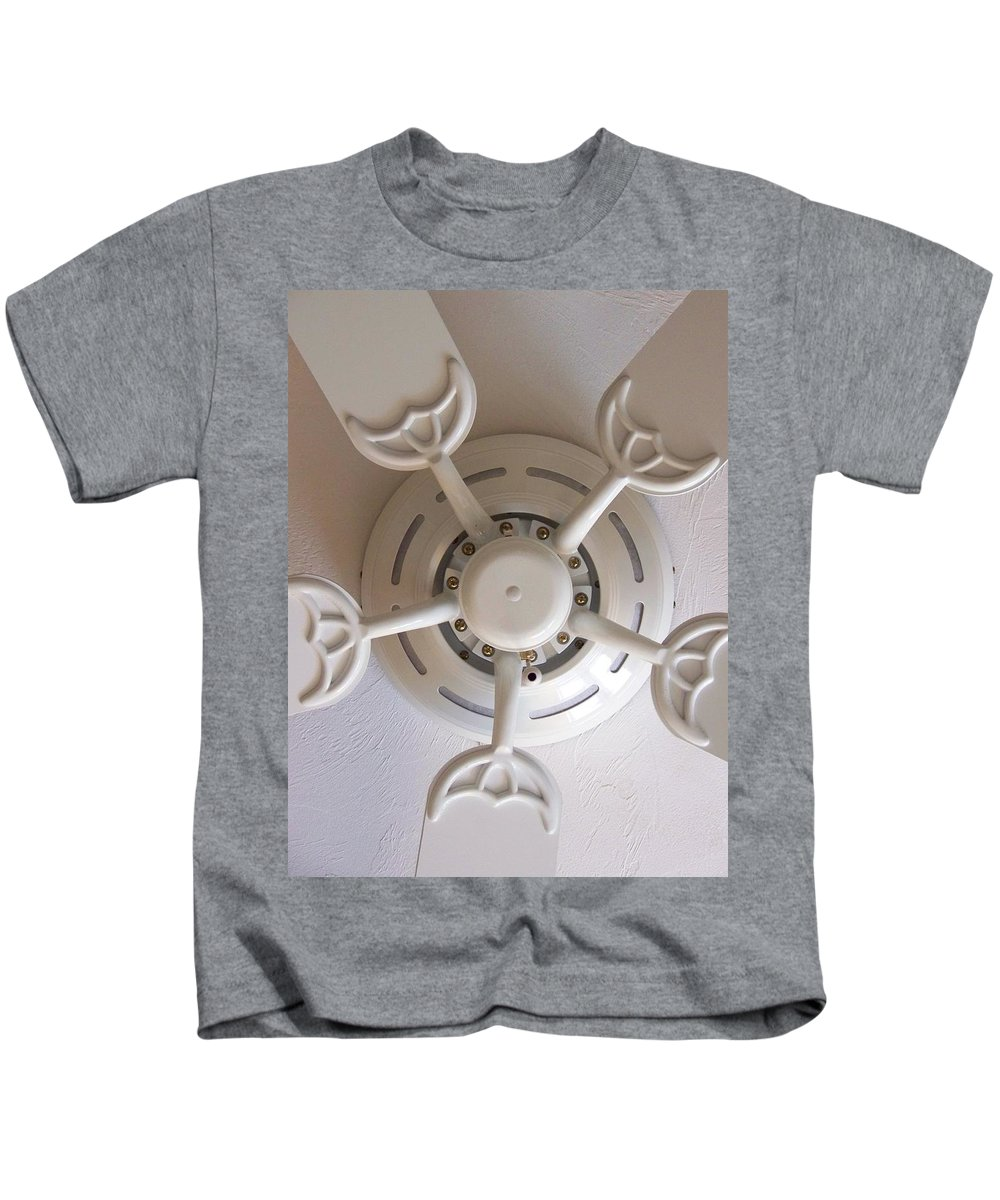 Fan Kids T-Shirt featuring the photograph Study In Light by Laurie Paci