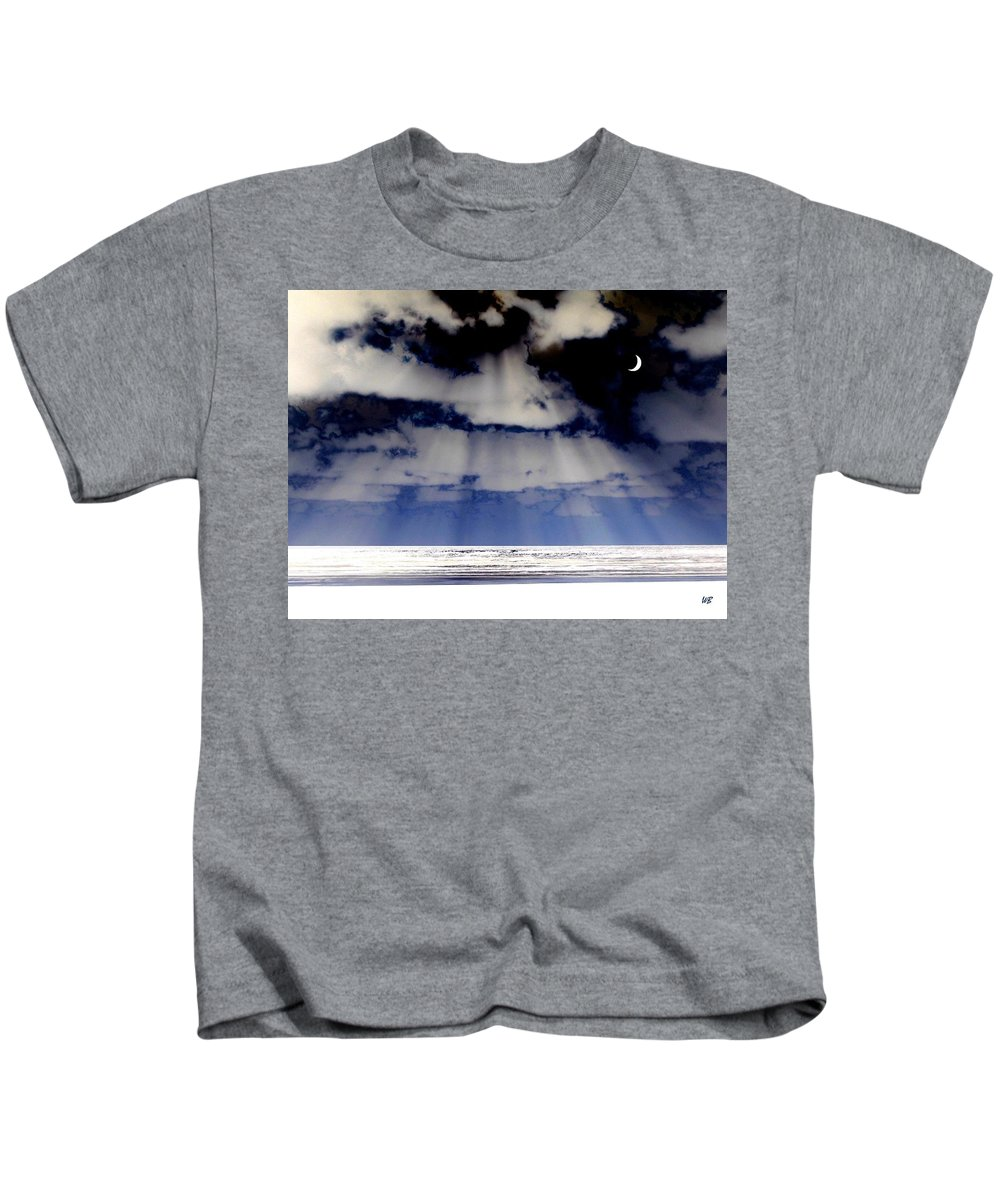 Surreal Kids T-Shirt featuring the digital art Sub Zero by Will Borden