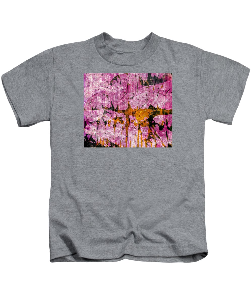 Faniartafrica America Kids T-Shirt featuring the mixed media Submit A Dance  by Fania Simon