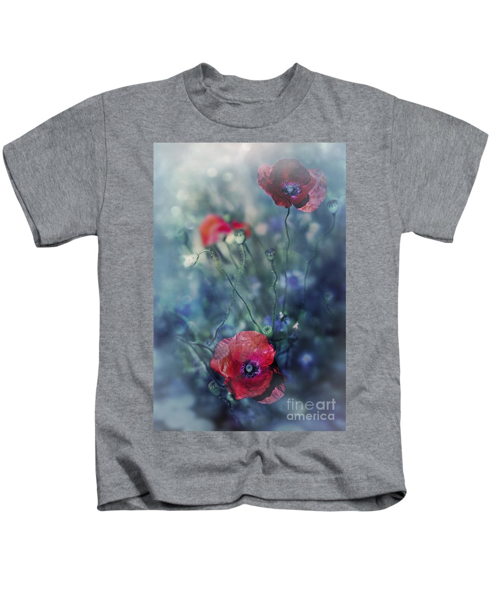 Nature Kids T-Shirt featuring the photograph Summer Meadow by Ezo Oneir