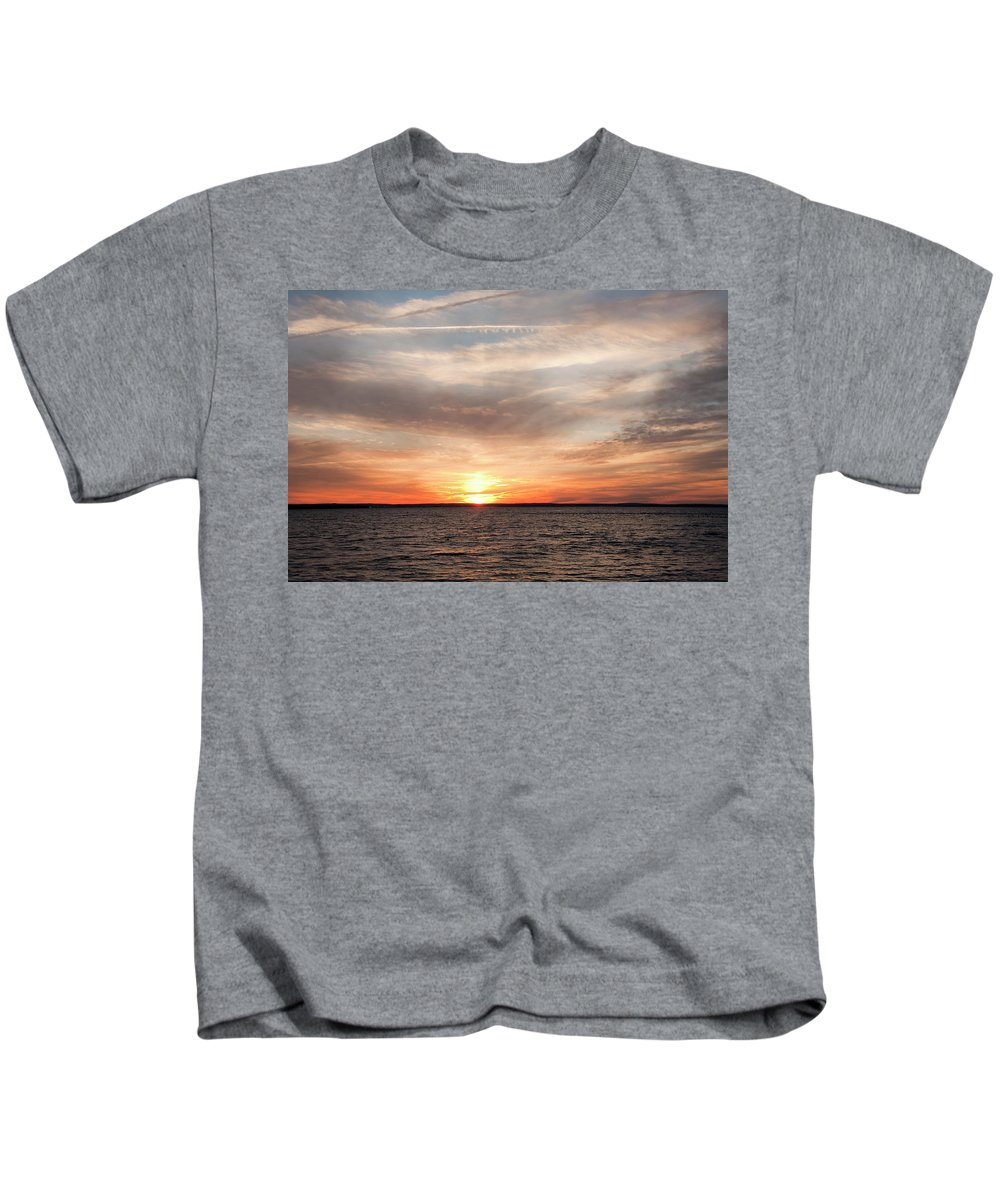 Sunset Kids T-Shirt featuring the photograph Sunset Gate 17 2 by Steven Natanson