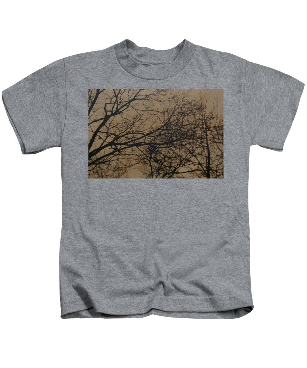 Landscape Kids T-Shirt featuring the photograph Sunset Snow by Rob Hans