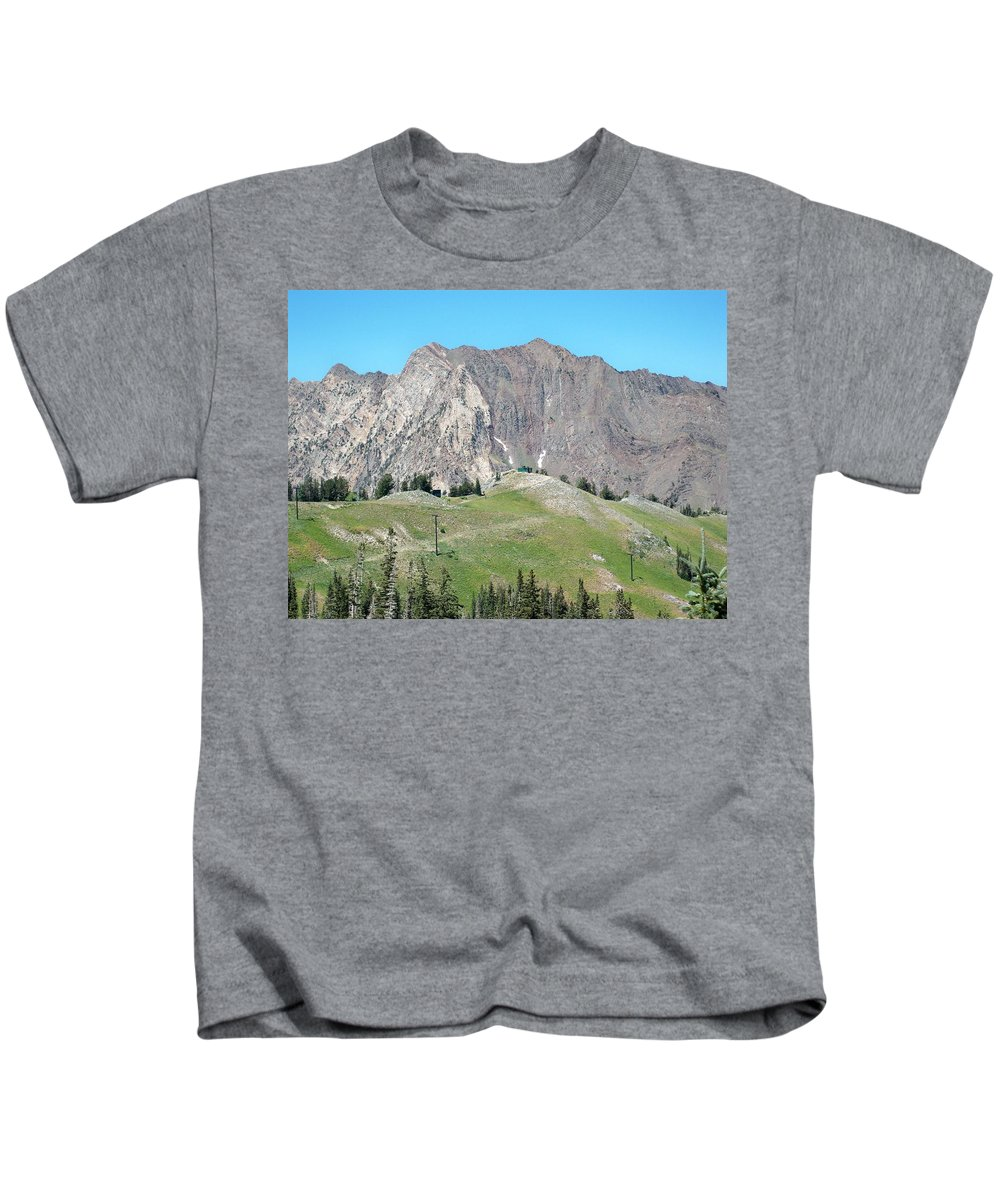 Landscape Kids T-Shirt featuring the photograph Superior by Michael Cuozzo