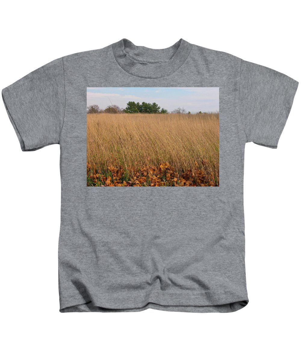 Barn Kids T-Shirt featuring the photograph Swaying To The Music - 2153 by Guy Whiteley