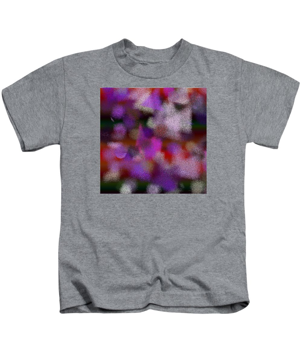 Abstract Kids T-Shirt featuring the digital art T.1.1233.78.1x1.5120x5120 by Gareth Lewis