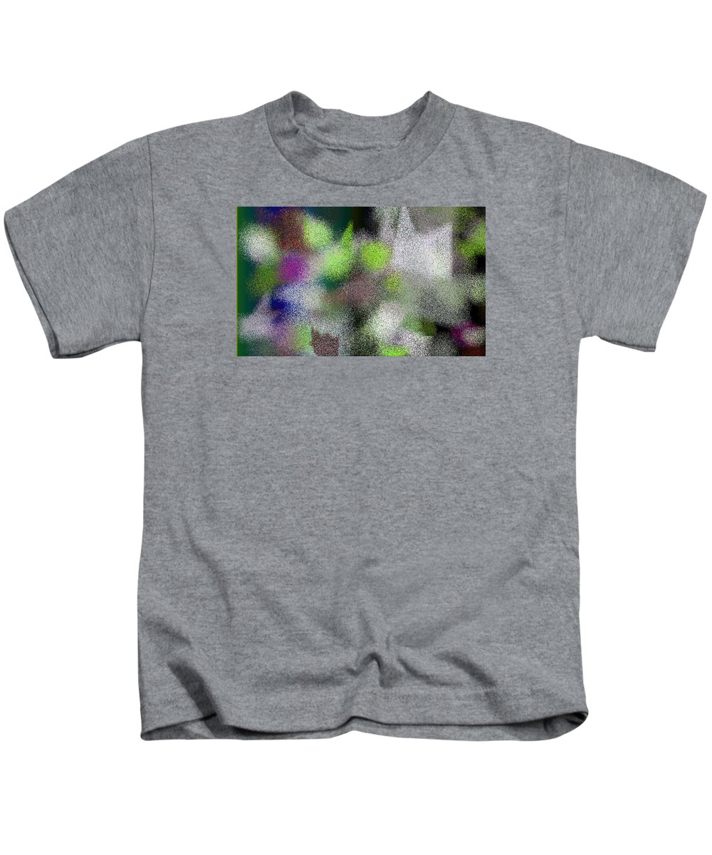 Abstract Kids T-Shirt featuring the digital art T.1.1275.80.5x3.5120x3072 by Gareth Lewis