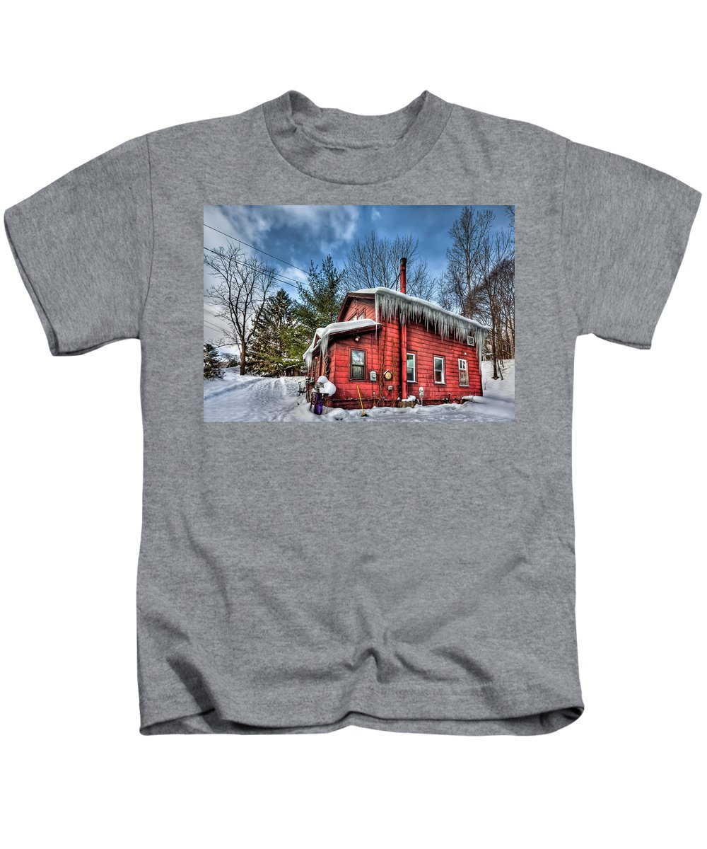 Home Kids T-Shirt featuring the photograph Take My Hand by Evelina Kremsdorf