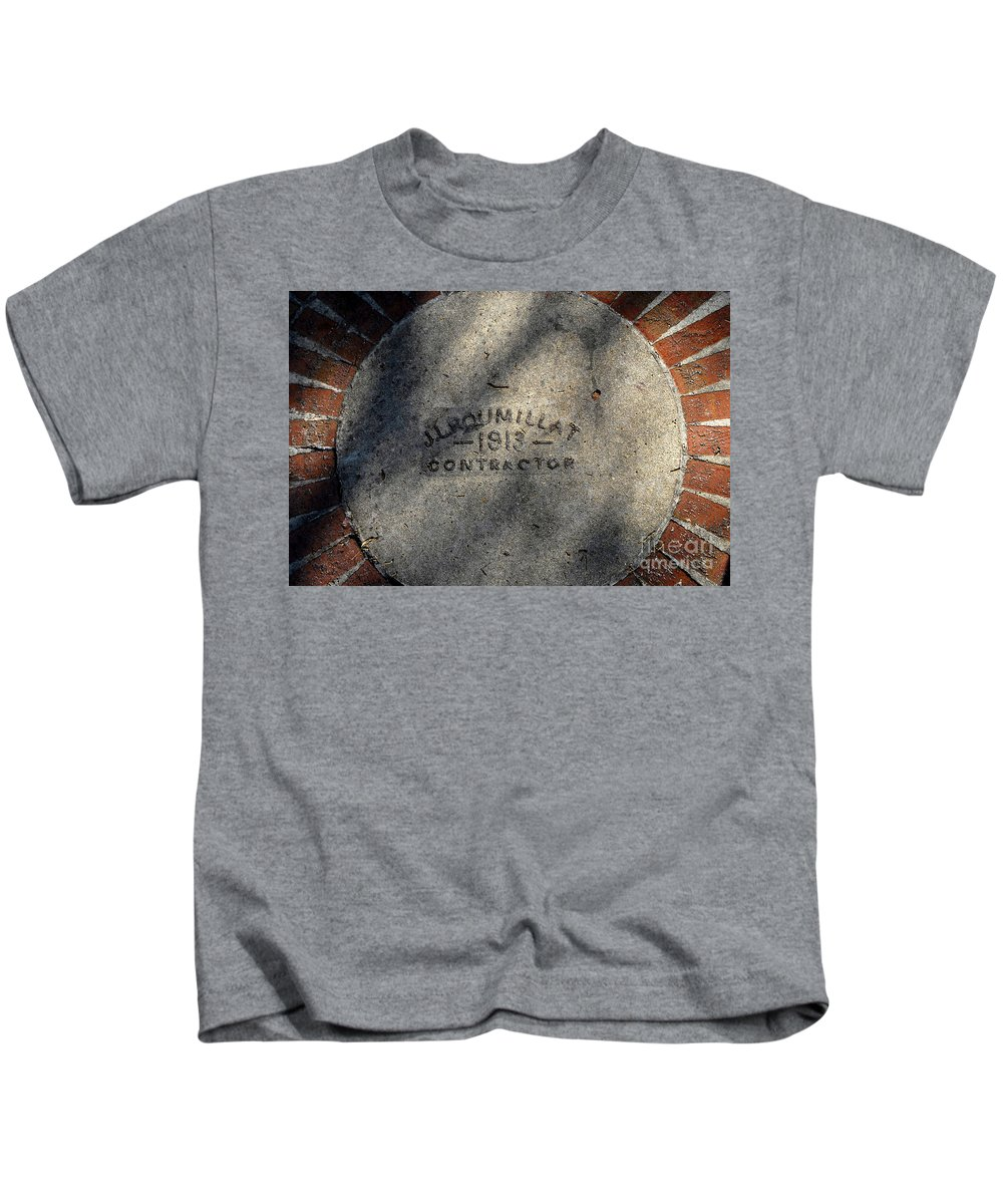 Contractor Kids T-Shirt featuring the photograph Tampa Bay Hotel 1913 by David Lee Thompson