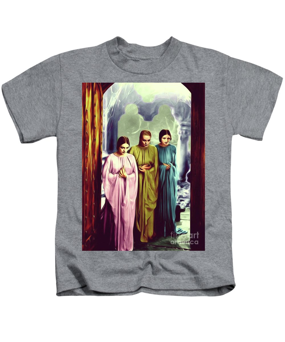 Colorized Paintings Kids T-Shirts