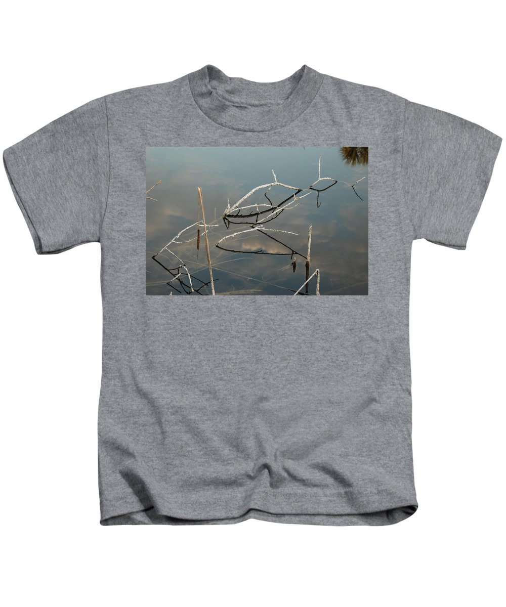 Wood Kids T-Shirt featuring the photograph The Bridge by Rob Hans