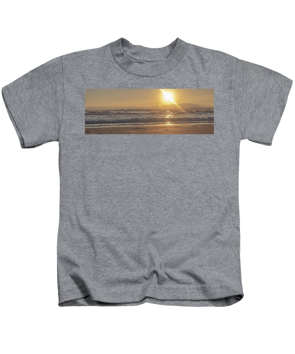 Vallejo Kids T-Shirt featuring the photograph The Edge Of The Earth by Kristofer M Johnson