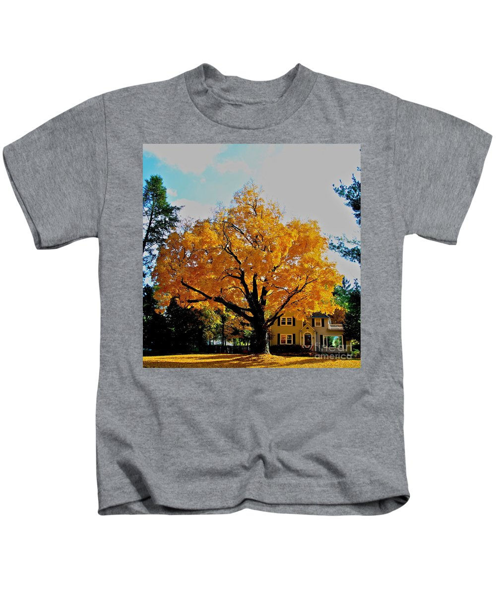 Family Kids T-Shirt featuring the photograph The Family Tree by Robert Pearson