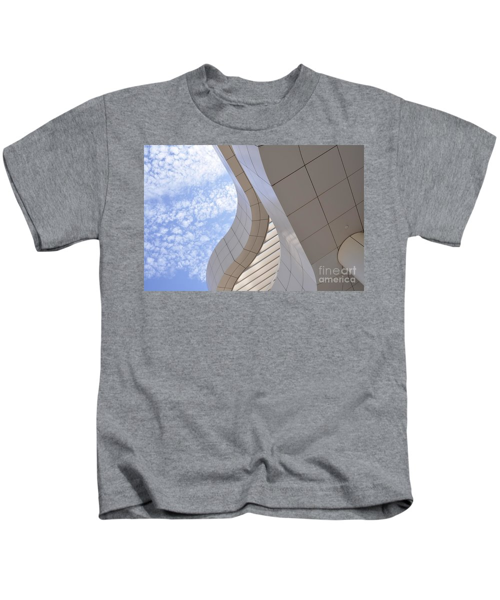 Clay Kids T-Shirt featuring the photograph The Getty by Clayton Bruster