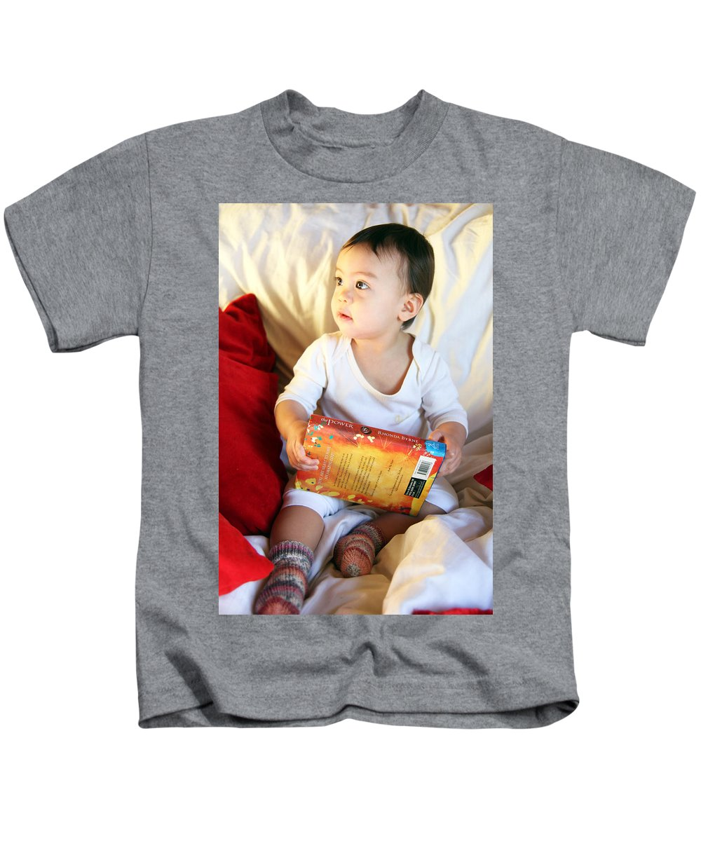 Jezcself Kids T-Shirt featuring the photograph The Gift Of Love by Jez C Self