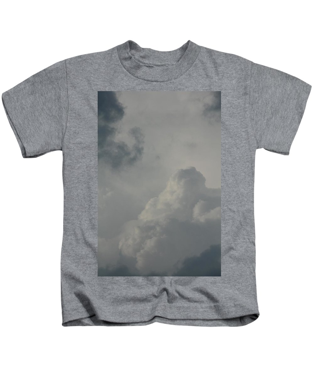 The Knock Out Punch Kids T-Shirt featuring the photograph The Knock Out Punch by Ed Smith