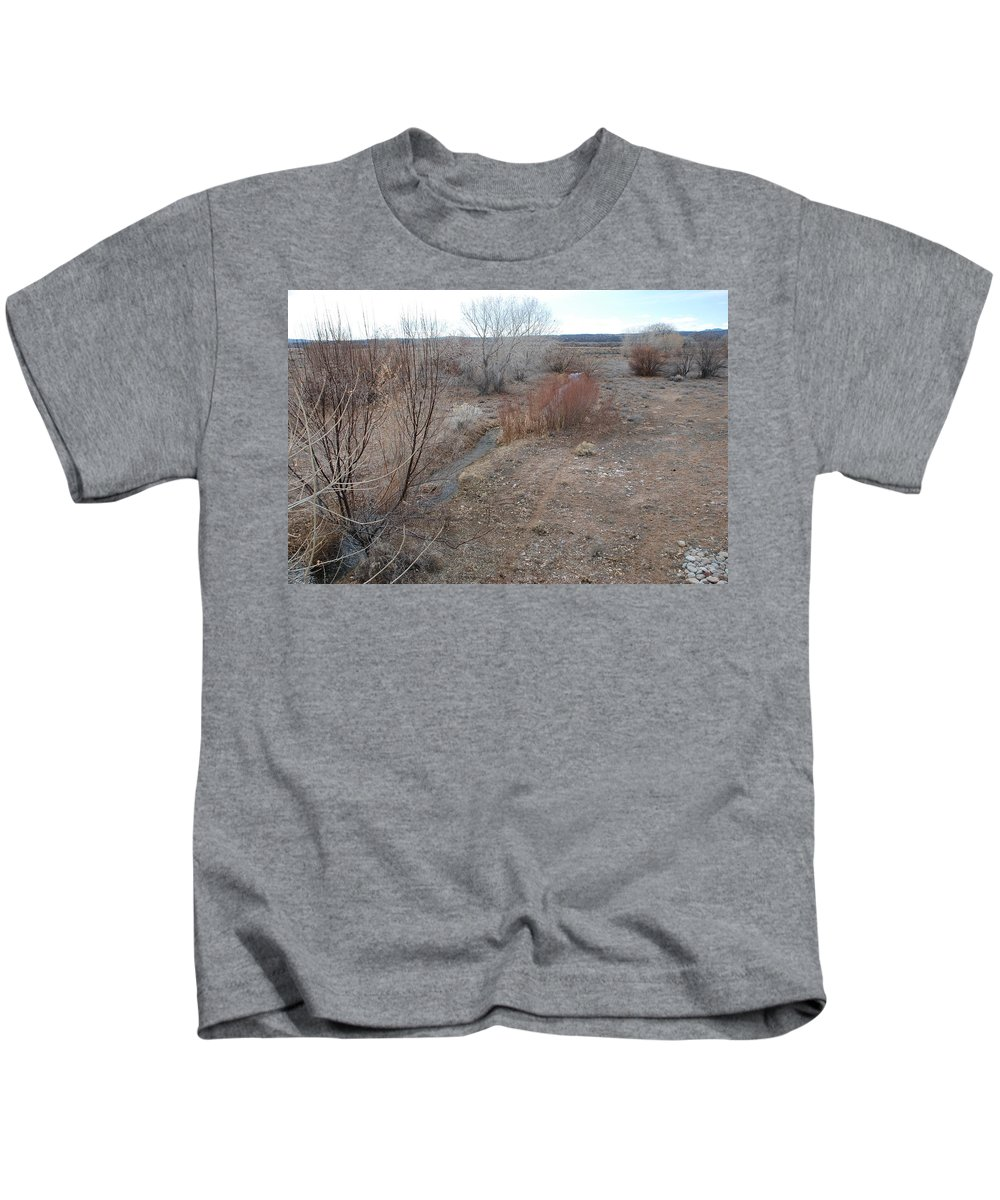 River Kids T-Shirt featuring the photograph The Mighty Santa Fe River by Rob Hans