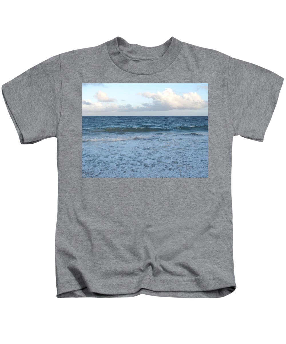 Surf Kids T-Shirt featuring the photograph The Next Wave by Ian MacDonald