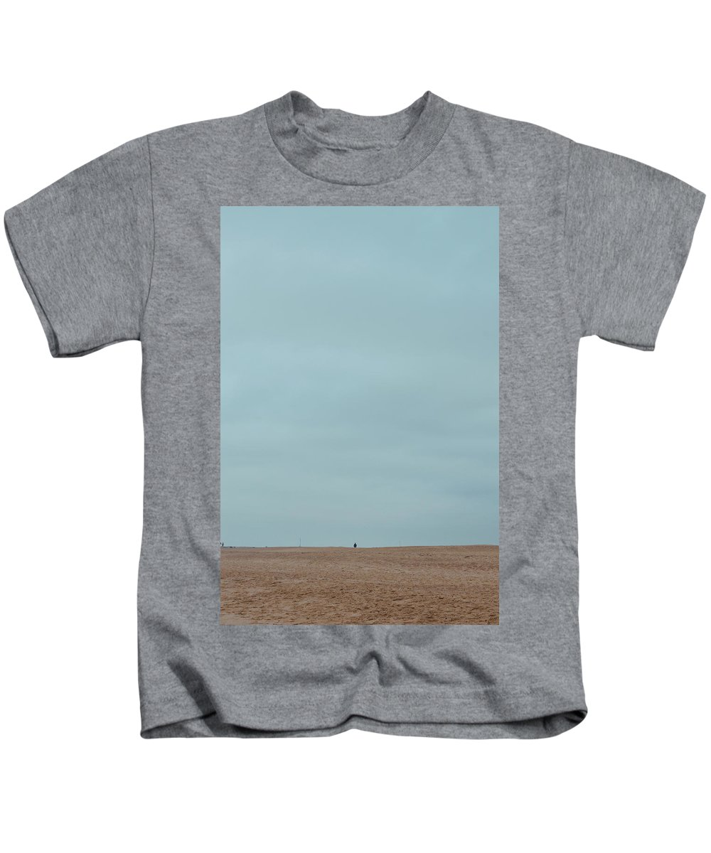 Beach Kids T-Shirt featuring the photograph The North Sea Landscape 2 by Shin Del