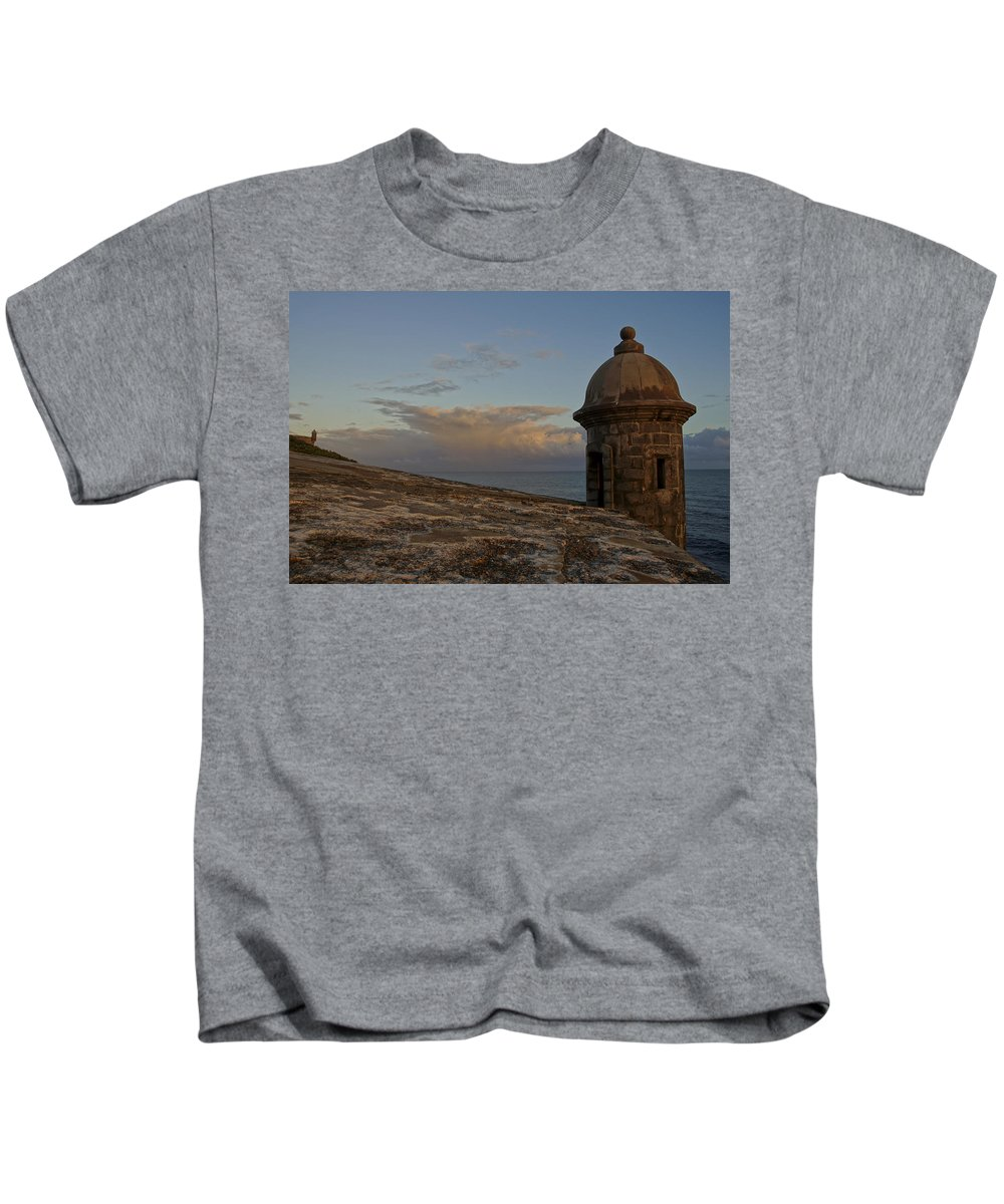 Puerto Rico Kids T-Shirt featuring the photograph The Outlook by Brian Kamprath